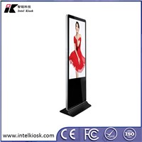 "WiFi 55"" Indoor Floor Standing LCD Advertising Players"