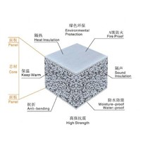 Fireproof Lightweight Eps Cement Wall Panel Factory Price in China