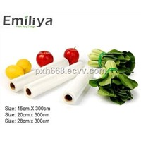 BPA- Free Clear Embossed Vacuum Roll, Vacuum Sealer Bag