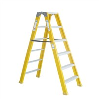 JUNAI POWER Fiberglass Step Ladder, FRP Ladder