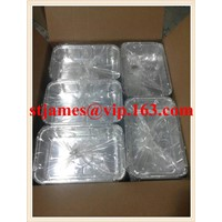 Economical High Quality Aluminum Foil Containers, Foil Tray, Foil Box