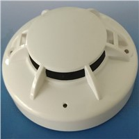 2-Wire Conventional Heat Detector Heat Alarm Sensor Compatible with All the Conventional Fire Alarm Control Panel