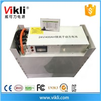 24v 400ah Lifepo4 Battery Pack for e-Car