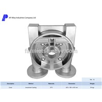 Ap Alloy Foundry Customized Manufacturer Precision Casting Part Pump- Side Cover of Pump