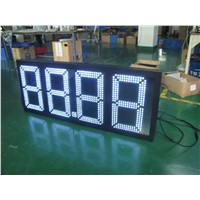 Mexico Advertising Outdoor Display Sign Board LED Gas Station Pylon Sign