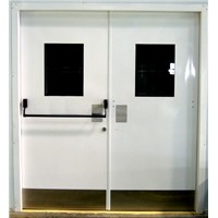 Double Leaf Door with Fire Rated & Vision Glass