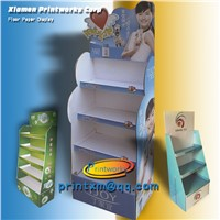 Advertising Cardboard Display Stand Unit