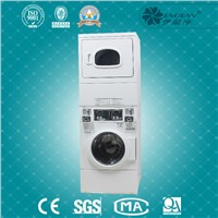 Commercial Stack Washing Machine & Dryer