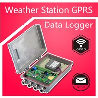 GPRS Weather Station Data Logging Sms Recorder