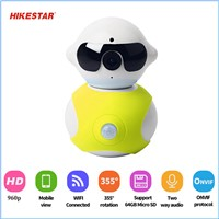 High Demand HK-A8 P2P H. 264 Cam Baby Robot WiFi Camera IP