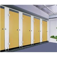 Compact Laminate Material Toilet Partition with Accessories