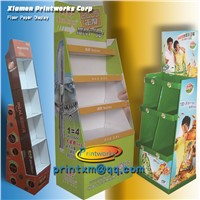 Custom Design POS Cardboard Display Shelf for Advertising