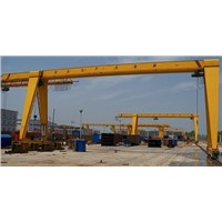 MG Model Railway Track Double Girder Gantry Crane