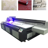 UV Flatbed Printer Support 3D Visual Effect Print, Emboss Effect, Grain Print, Etc..