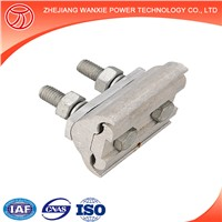 Parallel Groove Clamps / Wire Groove Connector / Guy Cable Pg Clamp with Two Bolts Overhead Cable Clamp