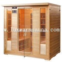 Carbon Fiber Heater Infrared Sauna Room for 4 People