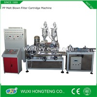 Dual Extruder Mutli-Layer PP Meltblown Filter Cartridge Machine