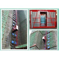 Industrial Construction Material Lift Goods Hoist with Overload Protector