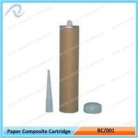 Paper Composite Can 300ml Sealant Cartridge Tube Manufacturer