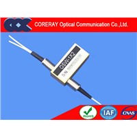 1X2 New Style Fiber Optical Switch with Low Insertion Loss & High Stability High Reliability