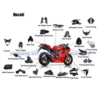 Carbon Fiber for Ducati Motorcycle Parts