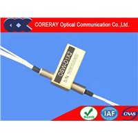 Low Insertion Loss Wide Wavelength Range D1X2 Fiber Optical Switch