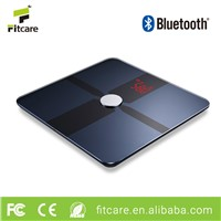 Precise Sensor Weight Measurement Bluetooth Body Fat Scale for Body Fitness Healthcare