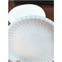 Food Grade 6 Inch White Paper Plate