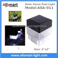 2''x 2'' Square Solar Fence Post Cap Light for Iron Fences & Pool Boundary Residential China Manufacturer