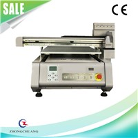 High Resolution Glass/Ceramic/Wood/Leather Digital UV Flatbed Photo Printer