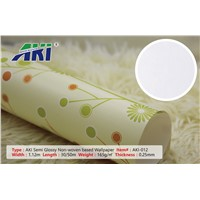 AKI 012 Semi Glossy Non-Woven Based Texture, Room Decoration Cartoom Wall Paper