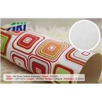 AKI-601 Straw Texture Wallpaper Self-Adhesive
