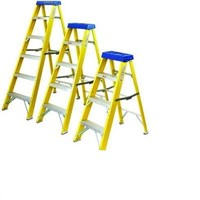 JUNAI POWER Fiberglass Step Ladder
