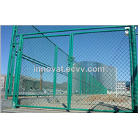 HOT!!! Good Quality Galvanized & Green PVC Coated Wholesale Chain Link Fence