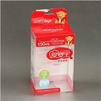Clear Baby Feeding Bottle Packaging Box