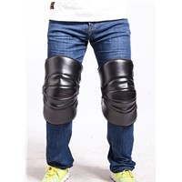 CE Approved Sports Knee Elbow Pad Leather Motorcycle Knee Protector Bicycle Cycling Bike Racing Skate Pads