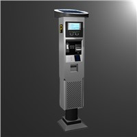 Parking Meter-Park Station for Payment with Solar