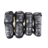 Bicycle Skateboard Roller Blading Elbow Knee Wrist Protector Safety Gear Pad Guard 4pcs Set