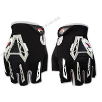 off-Road Safety Racing Riding Motorbike Gloves Half Finger Bicycle Gloves