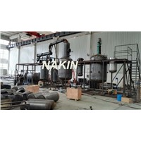 JZC Waste Engine Oil Distillation/Oil Refinery Plant