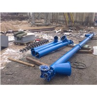 Screw Conveyor Steel Auger for Grain, Powder, Dry Sawdust, Cement - 6 m, 5,5 KW
