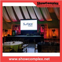 Showcomplex 3mm SMD Indoor Full Color Rental LED Screen