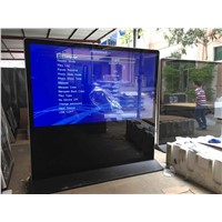 84 Inch Big Size Standing LCD Advertising Screen