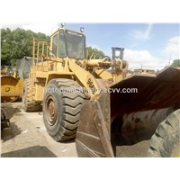 Original CAT 966E Wheel Loader, Japanese Caterpillar Used 966 Front Loader, Hydraulic Loader