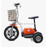 Electric Patrol Scooter/Electric Tricycle Scooter/Electric Trike Scooter/3-Wheel Scooter