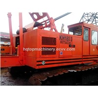 Japan Used Crawler Crane, Hitachi 50t KH180 Crawler Crane, Cheap Hydraulic Track Crane