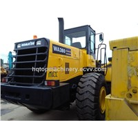 Used Wheel Loader, Hydraulic Front Loader, Komatsu WA380 Japan Loader
