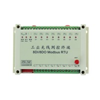 KYL-818 8-Way Industry i/o Module 433MHz 2km-3km on-off Wireless Control Oil/Water Tank Level Control & Monitoring