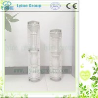 New Design Pofessinal Decorative Building Wholesale Concrete Column Molds Plastic Baluster Roman Mould
