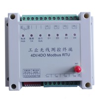 433MHz 4-Way Wireless I/O Module for Remote Pump Control, 2km-3km Distance, On-off Control